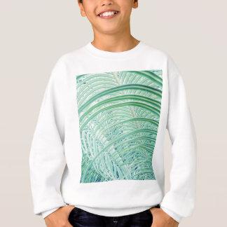 Agasalho Folha de palmeira macia da planta verde