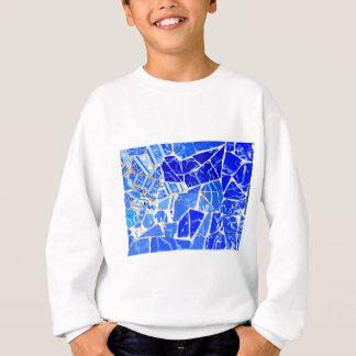 Agasalho Fundo azul abstrato