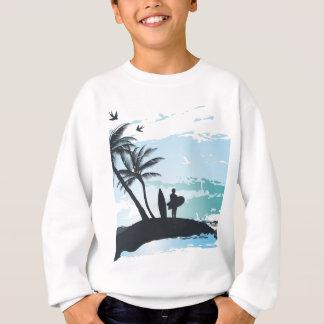 Agasalho Fundo do surfista do verão da palma