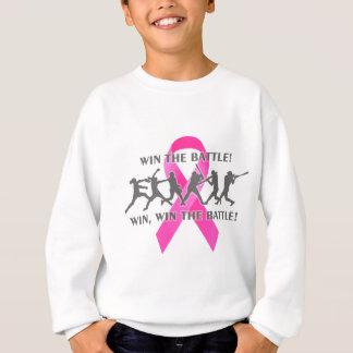 Agasalho Ganhe a fita do rosa do cancro da mama do softball