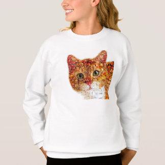 Agasalho Gato - colagem do gato