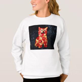 Agasalho gato da pizza - gatinho - gatinho
