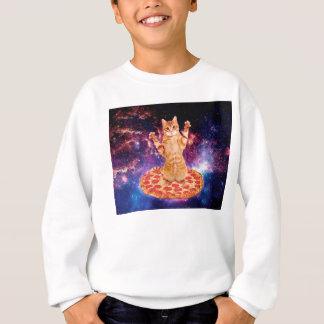 Agasalho gato da pizza - gato alaranjado - espace o gato