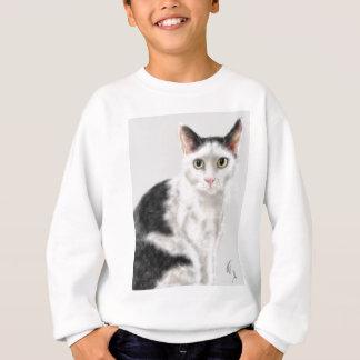 Agasalho Gato preto e branco