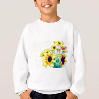 Agasalho Girassol do verão e buquê de Strawflower