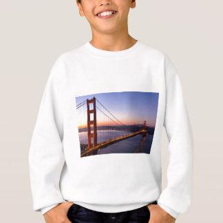 Agasalho Golden gate bridge San Francisco no nascer do sol