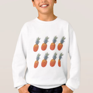 Agasalho Grande impressão do abacaxi