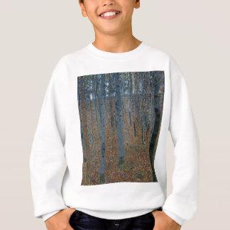 Agasalho Gustavo Klimt - bosque da faia. Animais selvagens