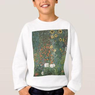 Agasalho Gustavo Klimt - flores dos girassóis do jardim do
