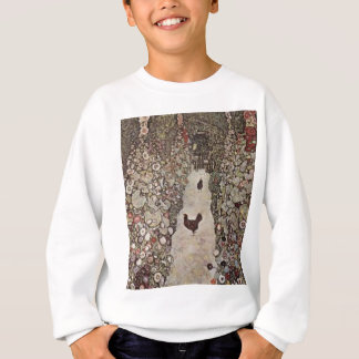 Agasalho Gustavo Klimt - jardim com galos