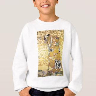 Agasalho Gustavo Klimt - o abraço - trabalhos de arte