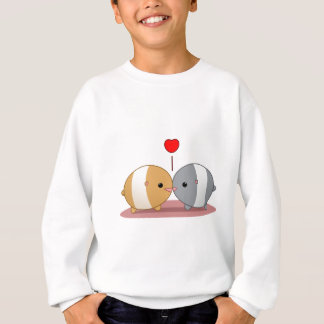 Agasalho hamster no amor
