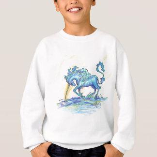 Agasalho Hipocampo azul do cavalo dos peixes do unicórnio
