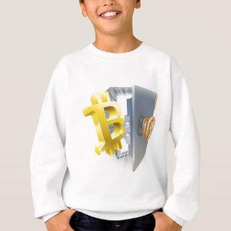 Agasalho Ilustração do cofre forte de Bitcoin