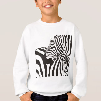 Agasalho Impressão dos animais selvagens, zebra
