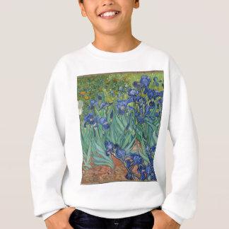 Agasalho Íris de Vincent van Gogh que pintam o trabalho de