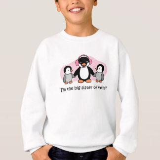 Agasalho Irmã mais velha dos gêmeos - pinguim
