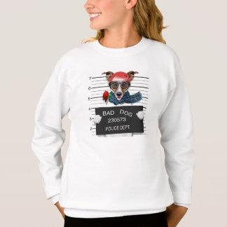 Agasalho Jaque engraçado russell, cão do Mugshot