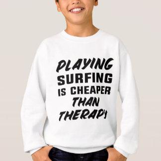 Agasalho Jogar surfar é mais barato do que a terapia
