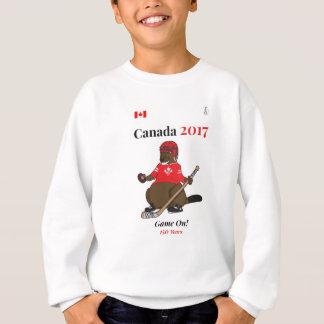 Agasalho Jogo de hóquei do castor de Canadá 150 em 2017