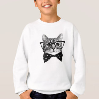 Agasalho laço do gato - gato dos vidros - gato de vidro