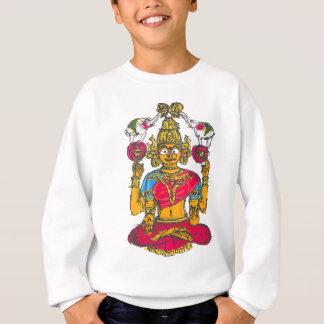 Agasalho Lakshmi/Shridebi na pose da meditação