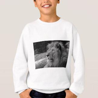 Agasalho Leão preto & branco - animal selvagem