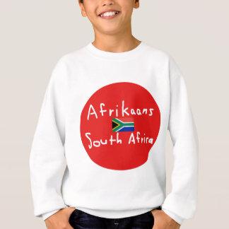 Agasalho Língua e bandeira de África do Sul do holandês