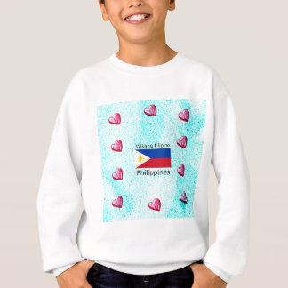 Agasalho Língua filipina de Wikang e bandeira de Filipinas