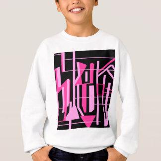 Agasalho Listras e linhas cor-de-rosa design