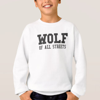 Agasalho Lobo agradável de todo o impressão das ruas