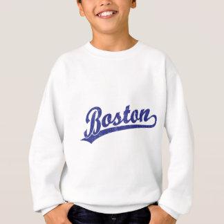 Agasalho Logotipo do roteiro de Boston no azul