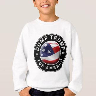 Agasalho Logotipo oficial de DumpTrumpforAmerica