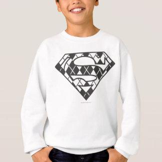 Agasalho Logotipo preto de Supergirl Argyle