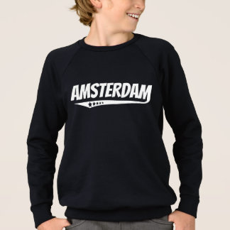 Agasalho Logotipo retro de Amsterdão
