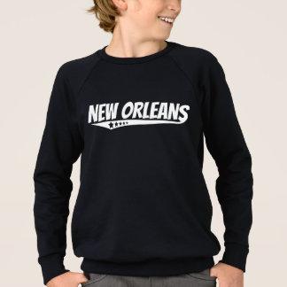 Agasalho Logotipo retro de Nova Orleães