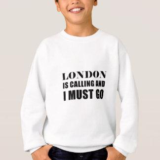 Agasalho Londres está chamando e eu devo ir