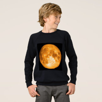 Agasalho Lua cheia alaranjada