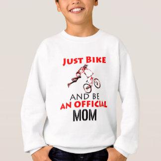 Agasalho Mamã engraçada do ciclismo