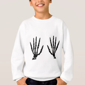 Agasalho Mãos do osso isoladas