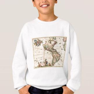 Agasalho Mapa 1670 de América