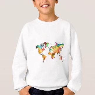 Agasalho mapa do mundo