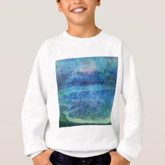 Agasalho Mar do oceano da escritura da arte do verso da