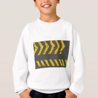 Agasalho Marcação de estrada amarela afligida Grunge