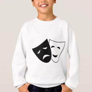 Agasalho Máscaras da tragédia da comédia