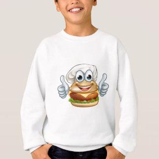 Agasalho Mascote do personagem de desenho animado da comida