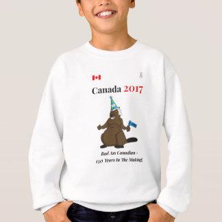 Agasalho Mau do partido do castor de Canadá 150 em 2017