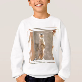 Agasalho Meerkat na camisola da juventude da atenção