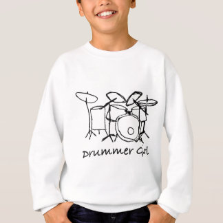 Agasalho Menina do baterista
