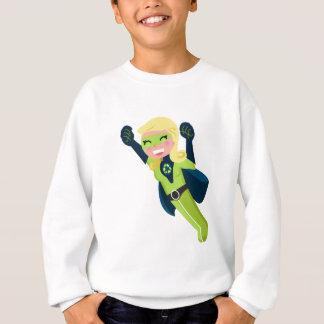 Agasalho Menina verde do super-herói